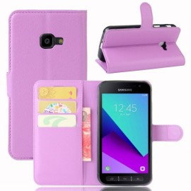 Book Case Samsung Galaxy Xcover 4s / 4 Hoesje - Paars
