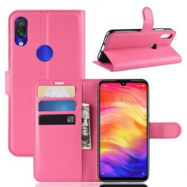 Book Case Xiaomi Redmi Note 7 Hoesje - Roze