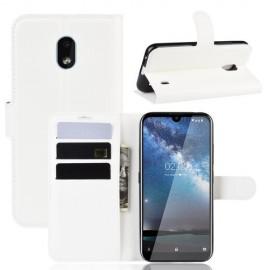 Book Case Nokia 2.2 Hoesje - Wit