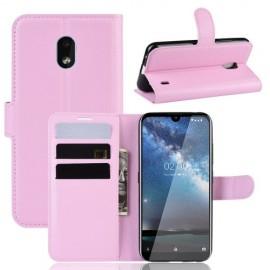 Book Case Nokia 2.2 Hoesje - Pink