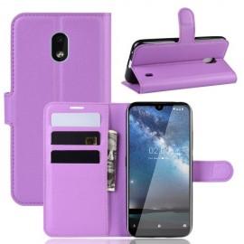 Book Case Nokia 2.2 Hoesje - Paars