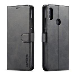 Luxe Book Case Xiaomi Redmi Note 7 Hoesje - Zwart