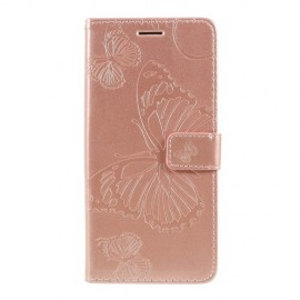 Vlinder Book Case Xiaomi Redmi Note 7 Hoesje - Rose Gold
