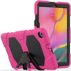 Heavy Duty Case Samsung Galaxy Tab A 10.1 (2019) Hoesje - Roze