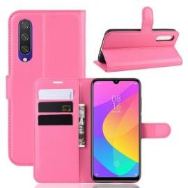 Book Case Xiaomi Mi A3 Hoesje - Roze