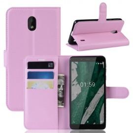 Book Case Nokia 1 Plus Hoesje - Pink