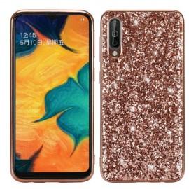 Glitter TPU Samsung Galaxy A50 / A30s Hoesje - Rose Gold