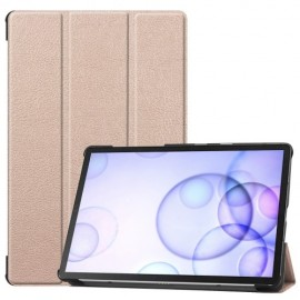 Smart Book Case Samsung Galaxy Tab S6 Hoesje - Goud