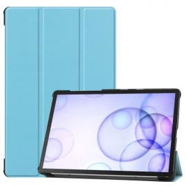 Smart Book Case Samsung Galaxy Tab S6 Hoesje - Lichtblauw