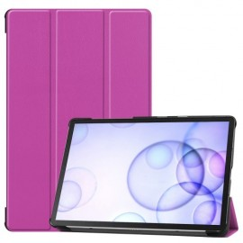 Smart Book Case Samsung Galaxy Tab S6 Hoesje - Paars