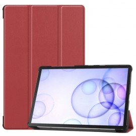 Smart Book Case Samsung Galaxy Tab S6 Hoesje - Bruin