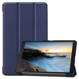 Tri-Fold Book Case Samsung Galaxy Tab A 8.0 (2019) Hoesje - Blauw
