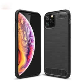 Armor Brushed TPU iPhone 11 Pro Hoesje - Zwart