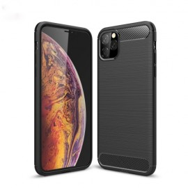 Armor Brushed TPU iPhone 11 Pro Max Hoesje - Zwart