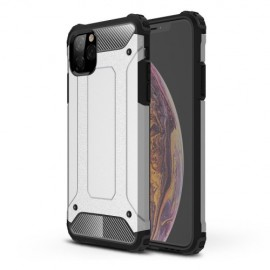 Armor Hybrid iPhone 11 Pro Max Hoesje - Zilver