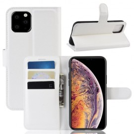 Book Case iPhone 11 Pro Max Hoesje - Wit