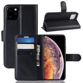 Book Case iPhone 11 Pro Max Hoesje - Zwart