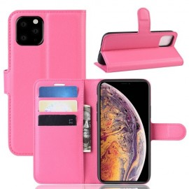 Book Case iPhone 11 Pro Max Hoesje - Roze