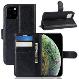 Book Case iPhone 11 Pro Hoesje - Zwart
