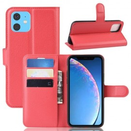 Book Case iPhone 11 Hoesje - Rood