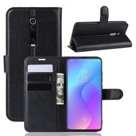 Book Case Xiaomi Mi 9T Hoesje - Zwart