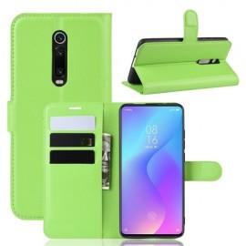 Book Case Xiaomi Mi 9T Hoesje - Groen