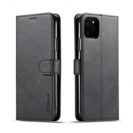 Luxe Book Case iPhone 11 Pro Max Hoesje - Zwart