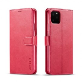 Luxe Book Case iPhone 11 Pro Max Hoesje - Rood