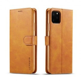 Luxe Book Case iPhone 11 Pro Max Hoesje - Bruin