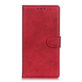 Luxe Book Case Motorola One Zoom Hoesje - Rood