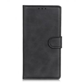 Luxe Book Case Motorola Moto E6 Plus Hoesje - Zwart