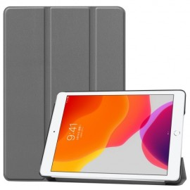 Smart Book Case iPad 10.2 (2019) Hoesje - Grijs
