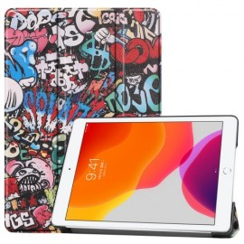 Smart Book Case iPad 10.2 (2019) Hoesje - Graffiti