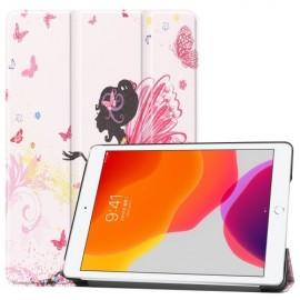 Smart Book Case iPad 10.2 Hoesje - Meisje