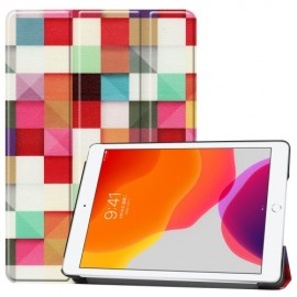 Smart Book Case iPad 10.2 (2019) Hoesje - Colour Squares