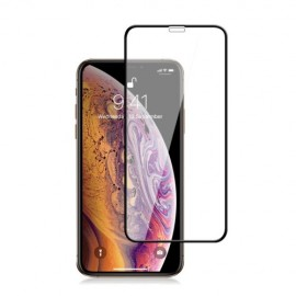 Full-Cover Tempered Glass iPhone 11 Pro - Zwart