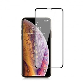 Full-Cover Tempered Glass iPhone 11 - Zwart