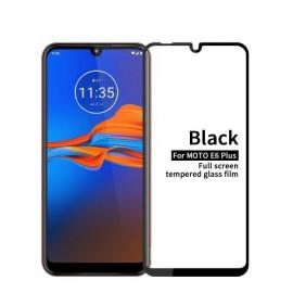 Full-Cover Tempered Glass Motorola Moto E6 Plus / E6s - Zwart