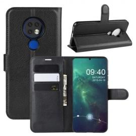 Book Case Nokia 6.2 / 7.2 Hoesje - Zwart
