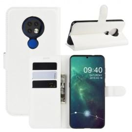 Book Case Nokia 6.2 / 7.2 Hoesje - Wit