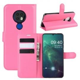 Book Case Nokia 6.2 / 7.2 Hoesje - Roze
