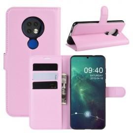 Book Case Nokia 6.2 / 7.2 Hoesje - Pink