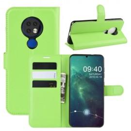 Book Case Nokia 6.2 / 7.2 Hoesje - Groen
