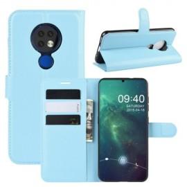 Book Case Nokia 6.2 / 7.2 Hoesje - Lichtblauw