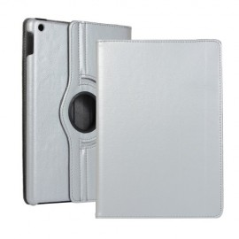 360 Rotating Case iPad 10.2 (2019) Hoesje - Zilver