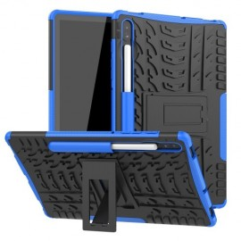Rugged Kickstand Samsung Galaxy Tab S6 Hoesje - Blauw