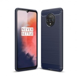 Armor Brushed TPU OnePlus 7T Hoesje - Blauw
