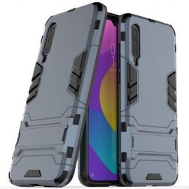 Armor Kickstand Xiaomi Mi 9 Lite Hoesje - Donkerblauw