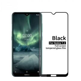 Full-Cover Tempered Glass Nokia 6.2 / 7.2 - Zwart