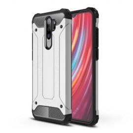 Armor Hybrid Xiaomi Redmi Note 8 Pro Hoesje - Zilver